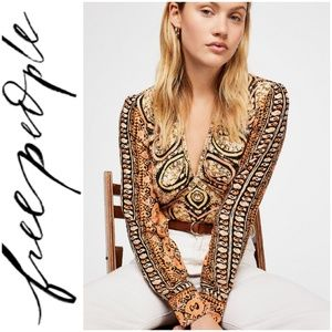 🚨NEW LIST! Free People Wild & Free Printed Top